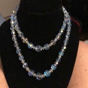 Stunning Crystal Glass Necklace
